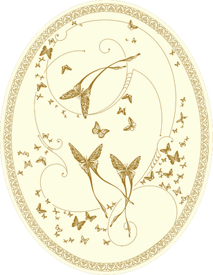 CО-196 Silver Butterflies