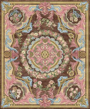 PD-233-6 Louis XIV (Копии антикварных ковров Savonnerie)