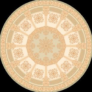 C-048/1 Heritage Pastel Round