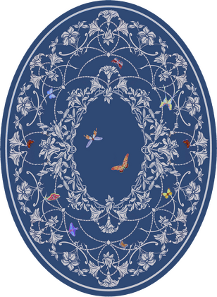 CО-204/6 Primavera (Butterflies)