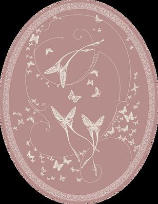 CО-196/7 Silver Butterflies (Butterflies)