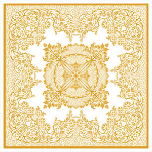 C-217/1 Gold Macrame (Lace Fashion)