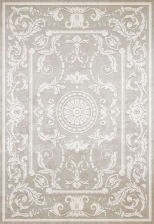 Белый ковер Villa Rotonda, коллекция Harmony