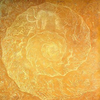 Золотой ковер из шерсти Ancient World