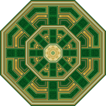 C-162-4 Hermitage Emerald Octahedron