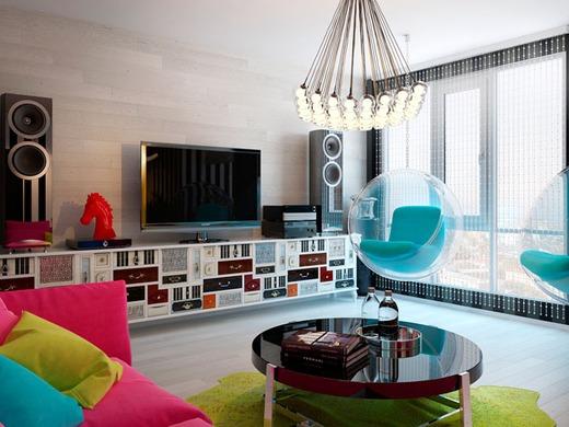 Творческий подход к маленькой квартире
